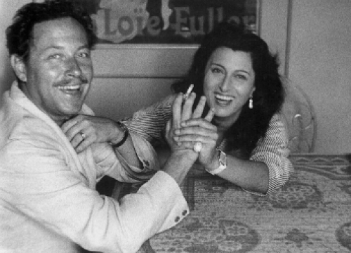 Tennessee Williams et Anna Magnani